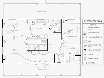 electrical blueprints electrical-floor-plan-drawing-electrical-blueprints-sml ...