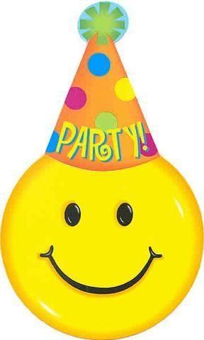 Party Hat Emoticon Birthday Smiley Symbols Emoticons Happy Quotes Wishes