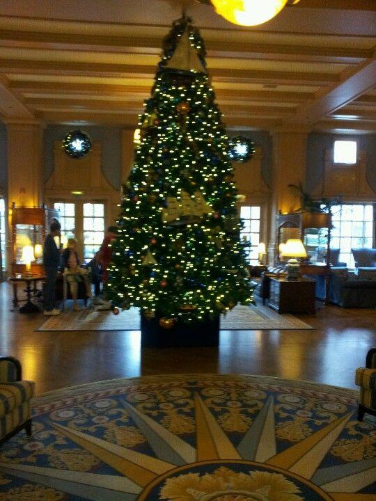 The Lobby Of Disney S Beach Club Resort Disney Resorts Are Very