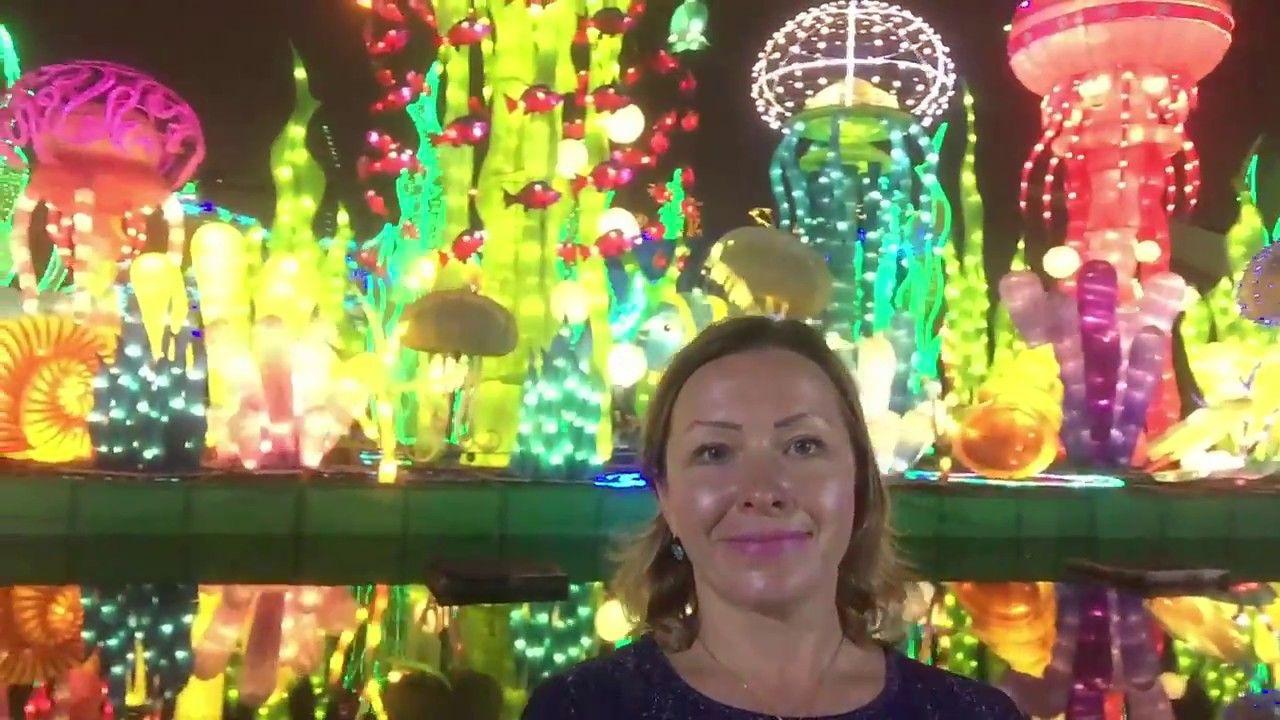 Dubai Tourism Dubai Garden Glow Unique destination in