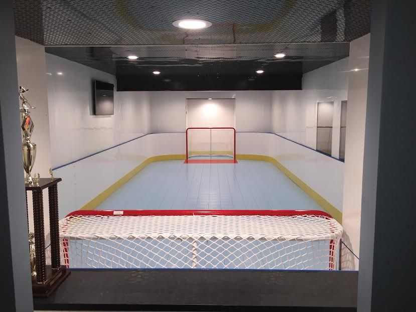 D1 Photo Gallery Basement Hockey Rink Backyard Rink In