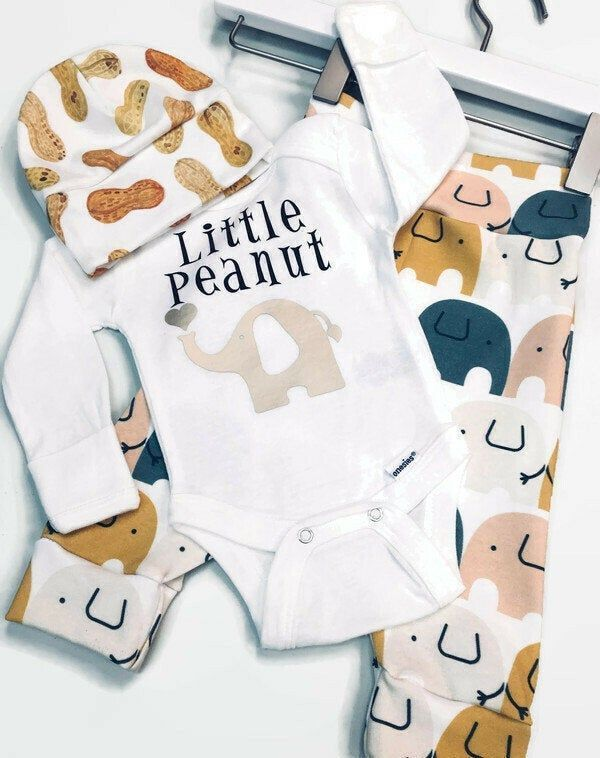 Photo of Baby Boy Coming Home Outfit, Newborn Baby Boy Outfit, Coming Home Outfit Baby Boy, Elephant B…