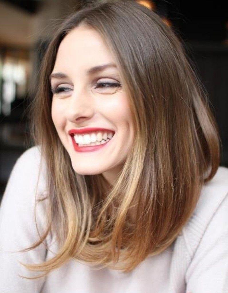 Carré plongeant long | Maquillage, cheveux et bijoux en 2019 | Cheveux, Couleur cheveux et ...