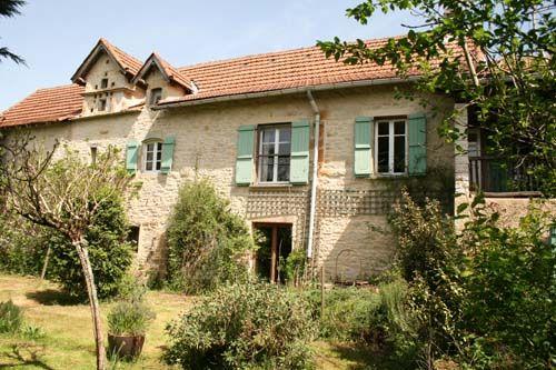 Village House For Sale Near VAILHOURLES, Aveyron, Midi-Pyrenees