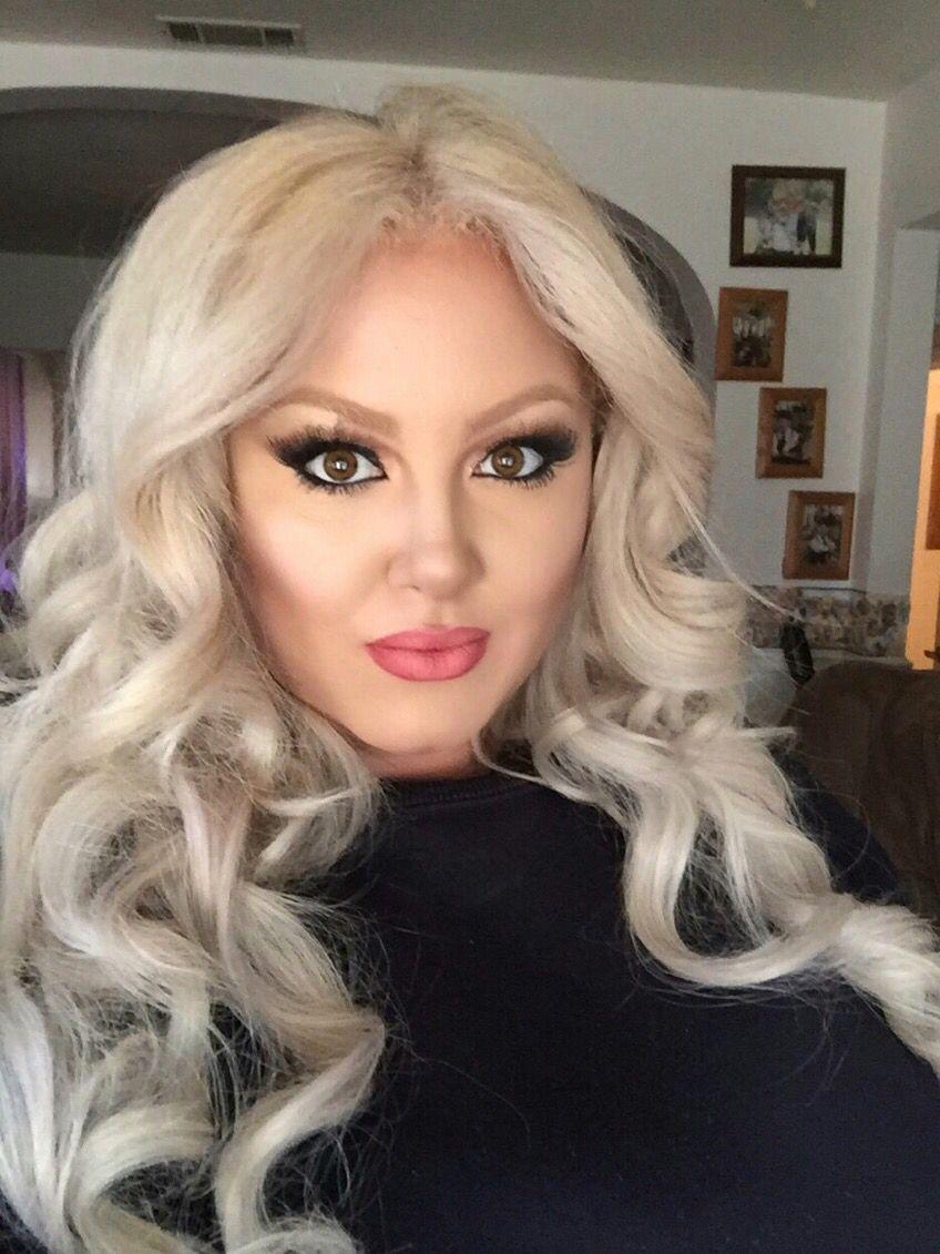 Busty Blonde Danielle face