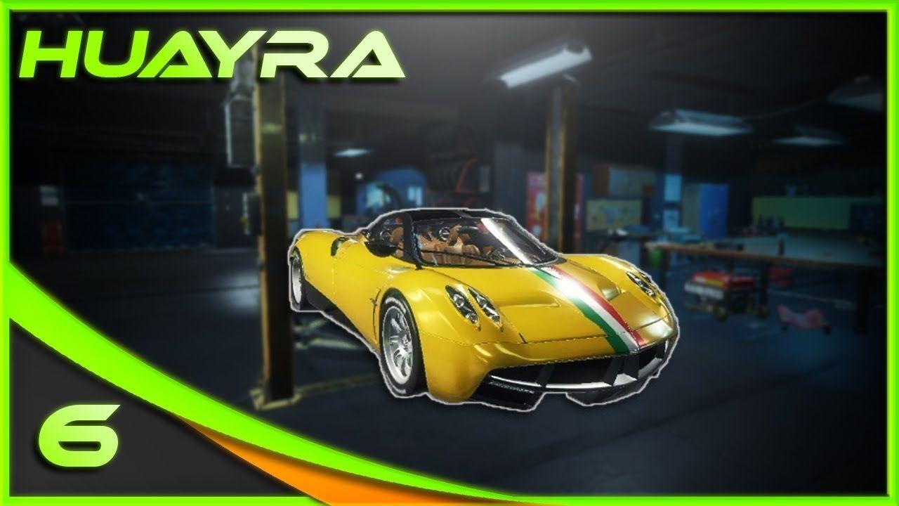 Yellow Streak Pagani Huayra Car Mechanic Simulator 2018 Car Mechanic Car Pagani Huayra