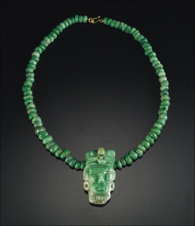 Ancient Mayan Jade Jewelry Facts And History In 2019