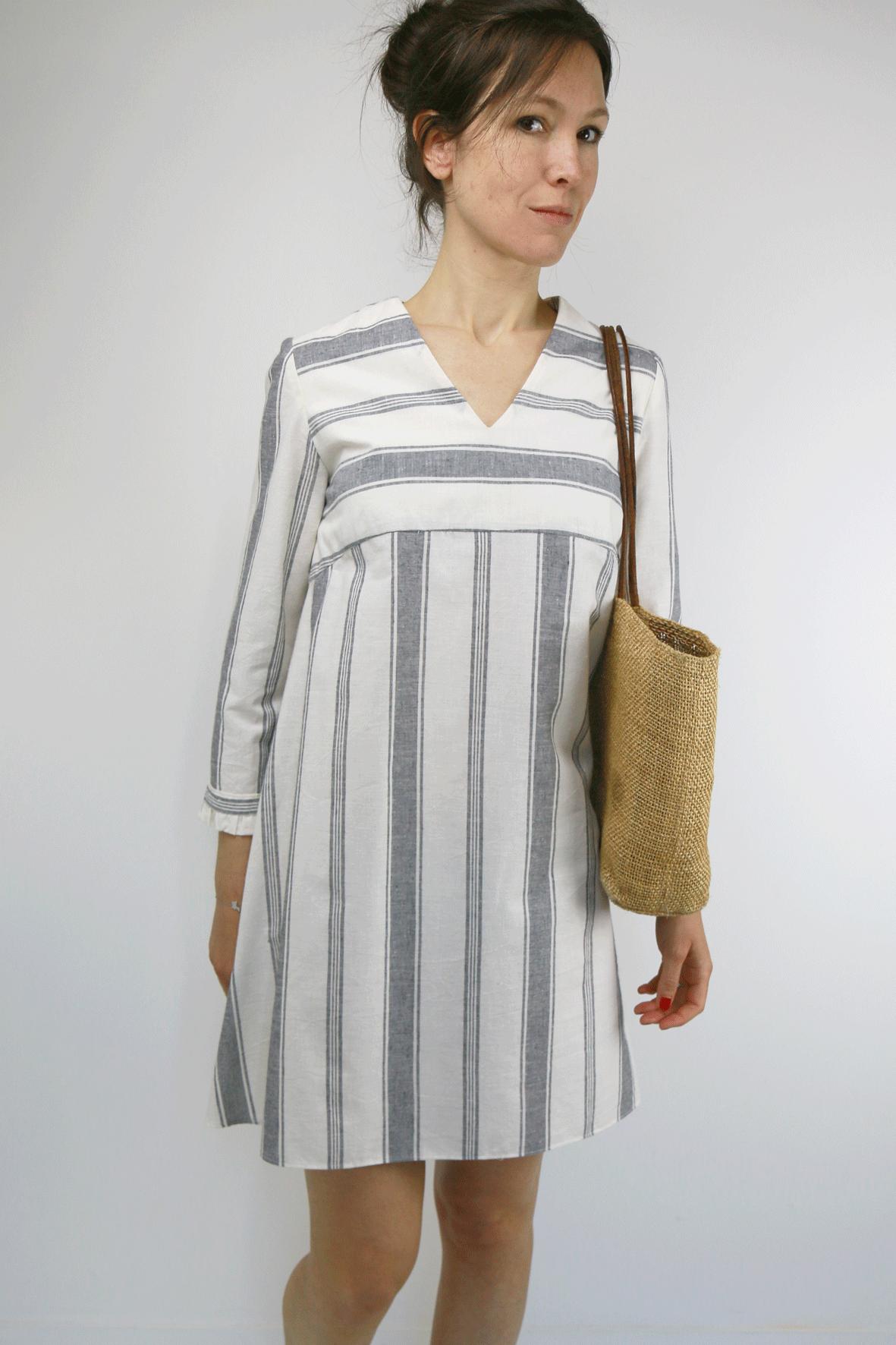 42f5bd81c515b patron de couture pdf ou pochette robe ou blouse femme Zephir ...