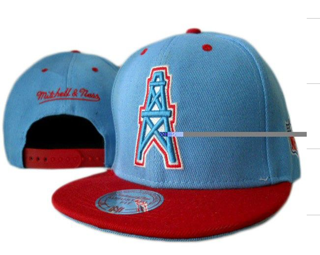 NFL Houston Oilers Snapback Hat (2)  b835f79211c2