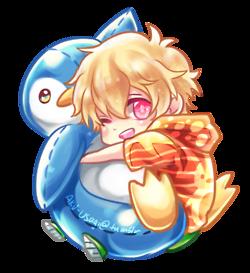 Free Cuddling Chibi Series Nagisa