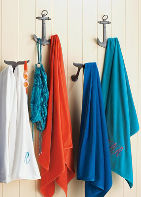 A Nautical Touch For Your Pool Decor My Bathroom Hooks Robes