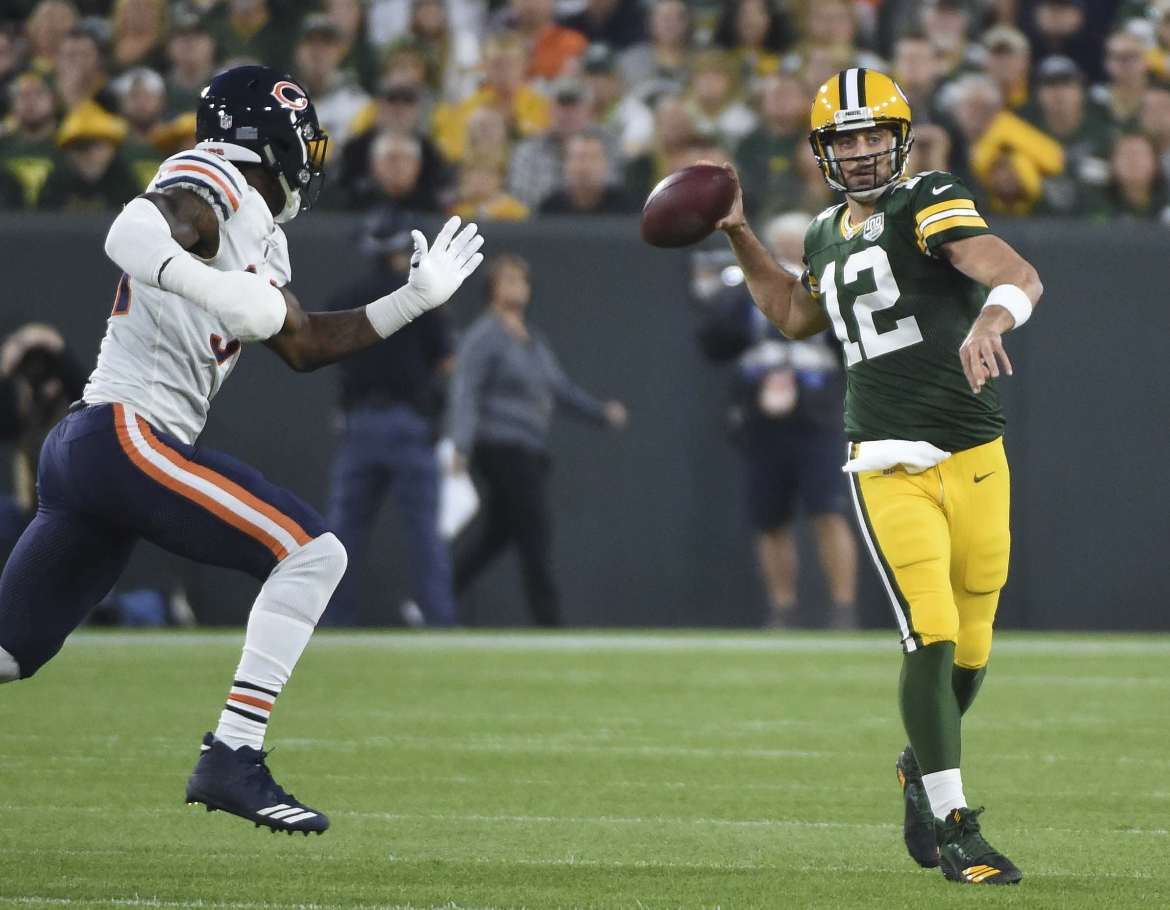 Aaron Rodgers Completes Packers Wild Comeback Vs Bears After Returning From Injury Aaron Rodgers Comebacks Packers