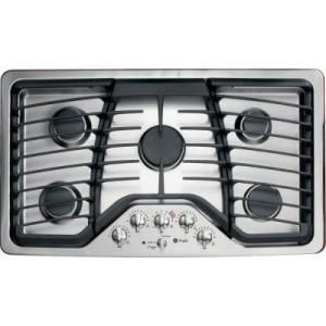 Ge Pgp976setss Stainless Steel Gas Cooktops Goedeker S Gas