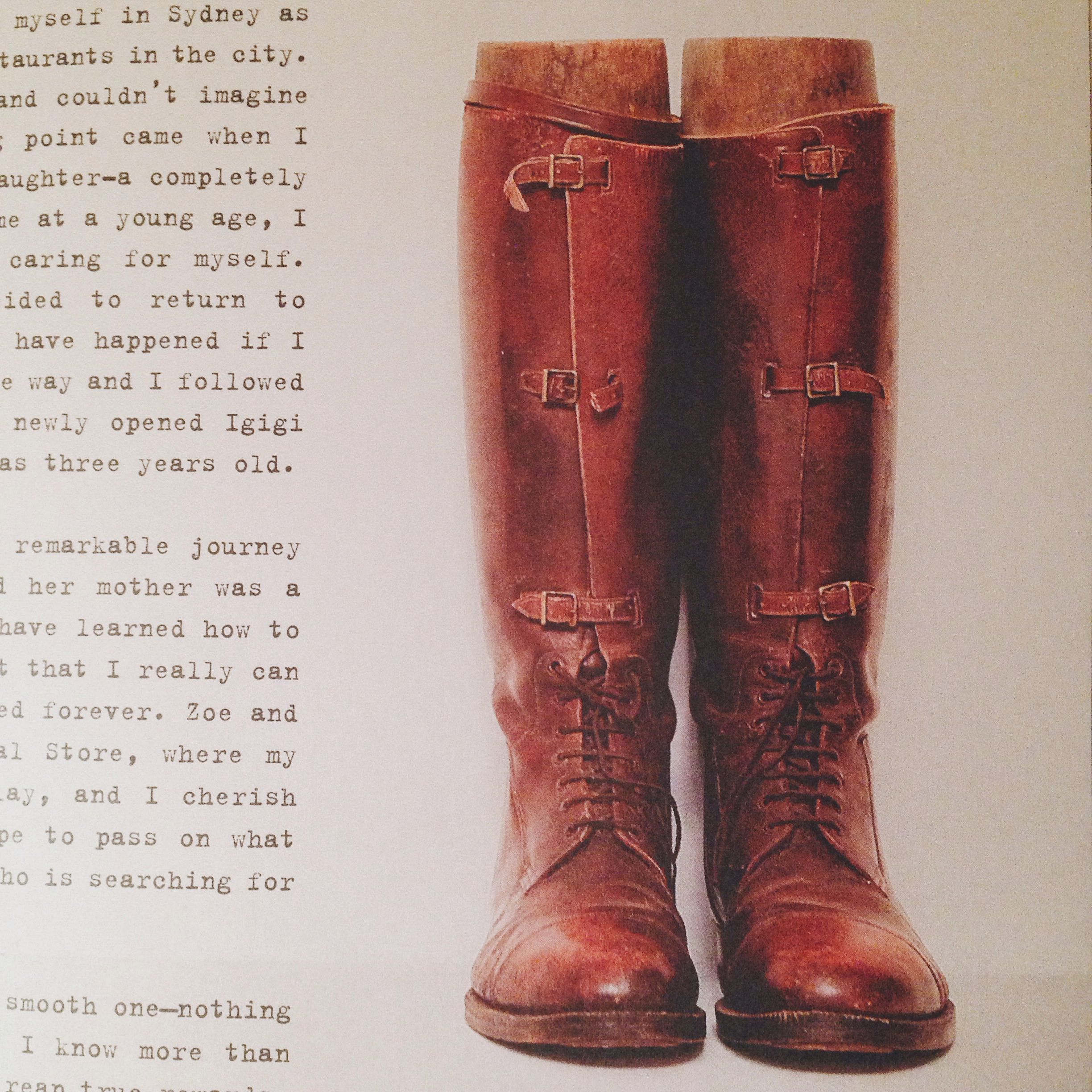 Vintage WWI army officer boots. Want something like this!