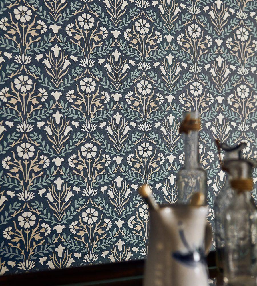 Morris & Co Bellflower Wallpaper Wilton carpet, Types