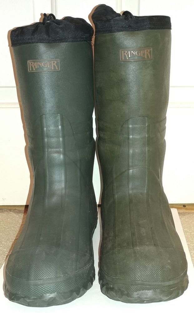 Ranger Rain Mud Insulated 15 Tall Men S Boot 8 Ranger