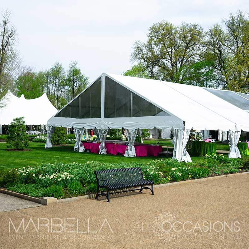 Tented Event Tenting Rental Tented Wedding All Occasions Party Rental Party Rentals Outdoor Decor Outdoor Structures