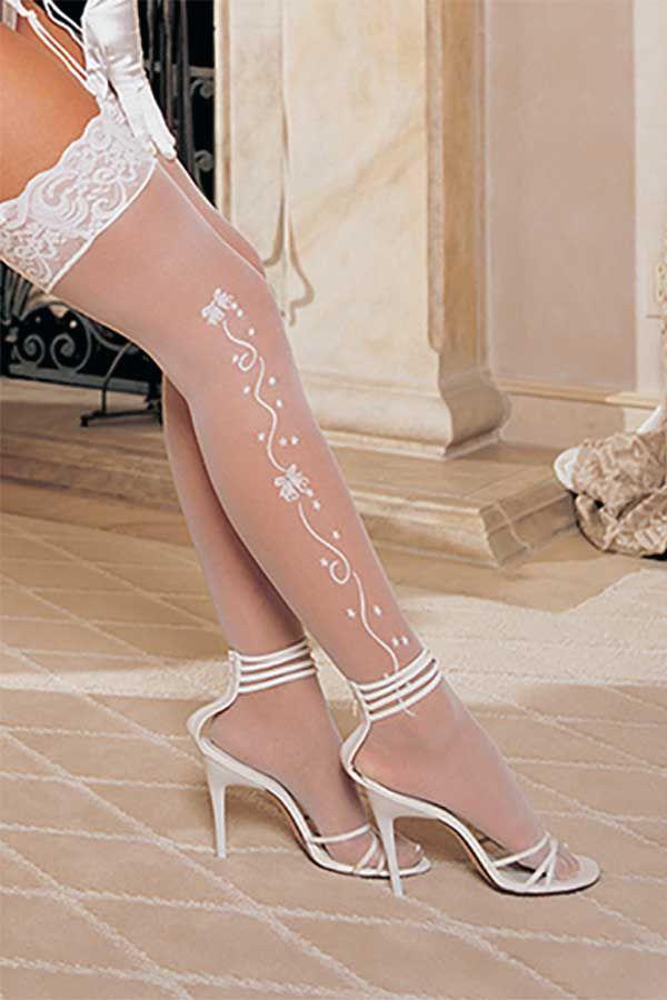 863ab258dc0 Bridal stockings...for a little something besides the garter underneath the wedding  dress   AspirationalBride