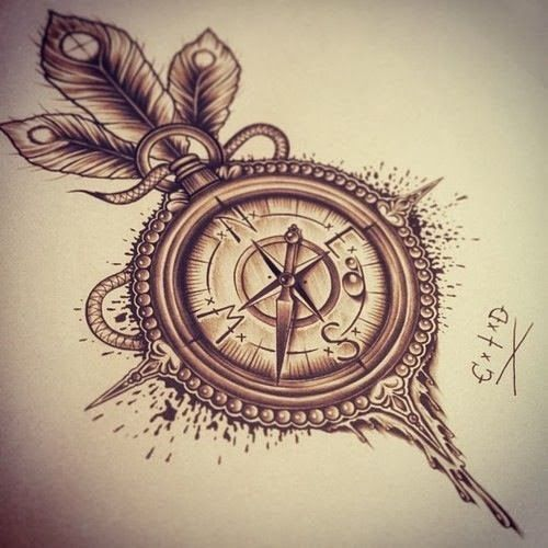 compass rose tattoo - Pesquisa Google | Tattoos | Pinterest ...