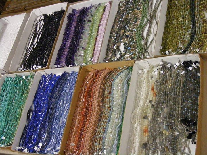 Beads!  From Appalachian Rock Shop & Jewelry Emporium in Harmony, PA