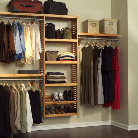 Merveilleux If You Have An Empty Wall You Can Make Your Very Own Closet Space.  (Pictured Is A Louis Closet Organizer Set)