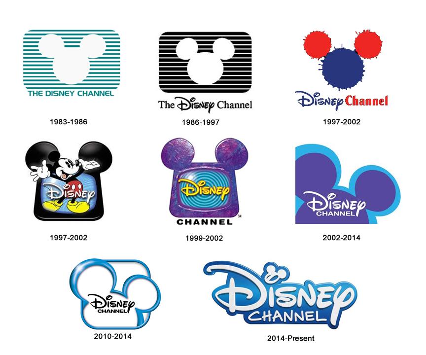 Disney Channel Logo Evolution Disney channel logo, Old