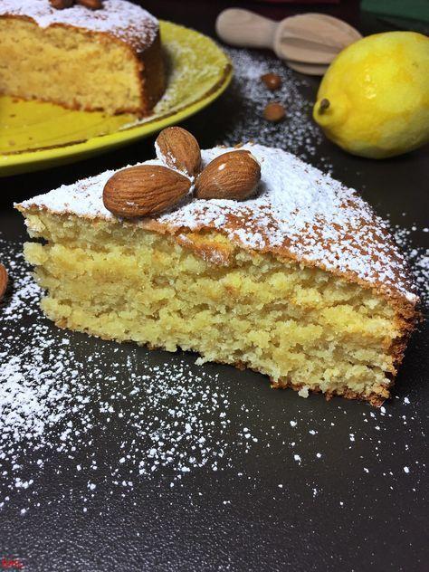 Photo of Almond lemon cake … gluten free
