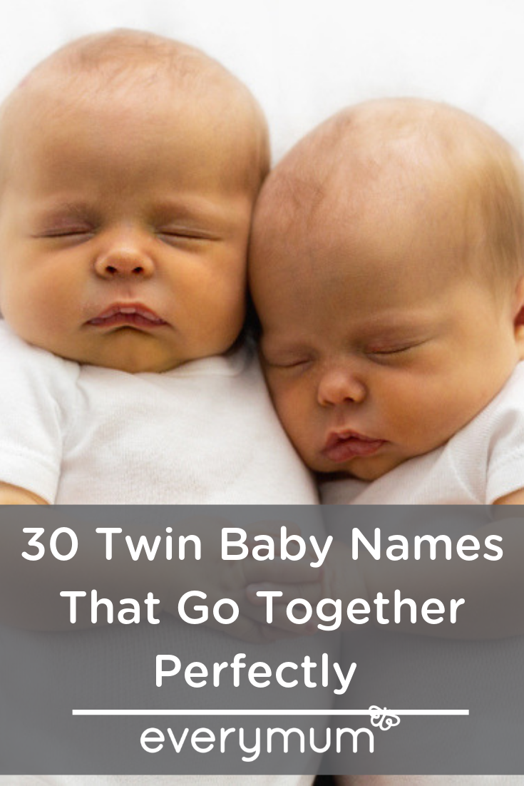 30 Twin Baby Name Combos That Go Perfectly Togethe