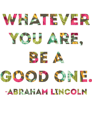 free printable of this Abraham Lincoln quote. Love this!! #AbrahamLincoln #inspiringquote