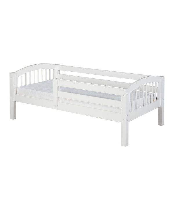 Take a look at this White Arch Spindle Guardrail Day Bed on zulily today!