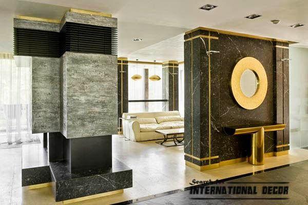 Modern Columns decorative columns, stylish element in modern interior | 酒店