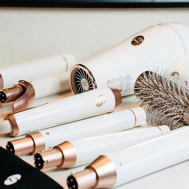 Hair Styling Essentials Create Gorgeous Curls And Waves Every Time Fallbeauty Rosegold Curlingiron Curling Hair With Wand Styling Tools Hair Tools