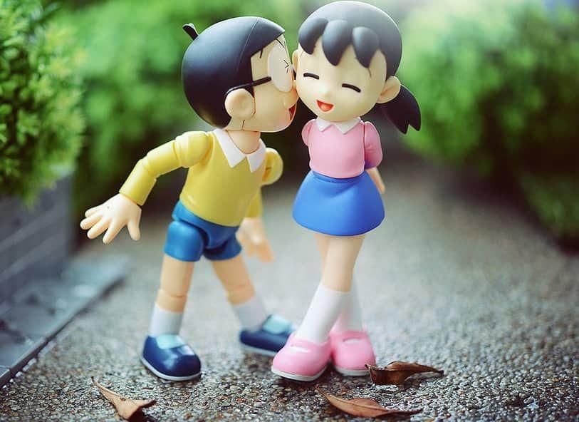 Top 40 Beautiful Nobita Shizuka Love Images Hd Wallpaper 2018 Romantic Cartoon Images Love Wallpapers Romantic Cute Cartoon Pictures