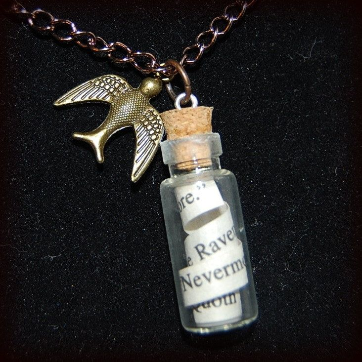 Curl a favourite quote or your book title into a vial. Creative book swag ideas…