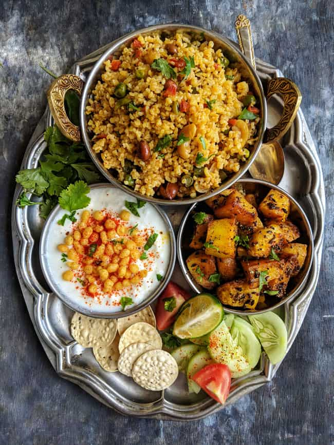 30 Everyday Indian Meals | Indian Thali Meals - Fun FOOD Frolic