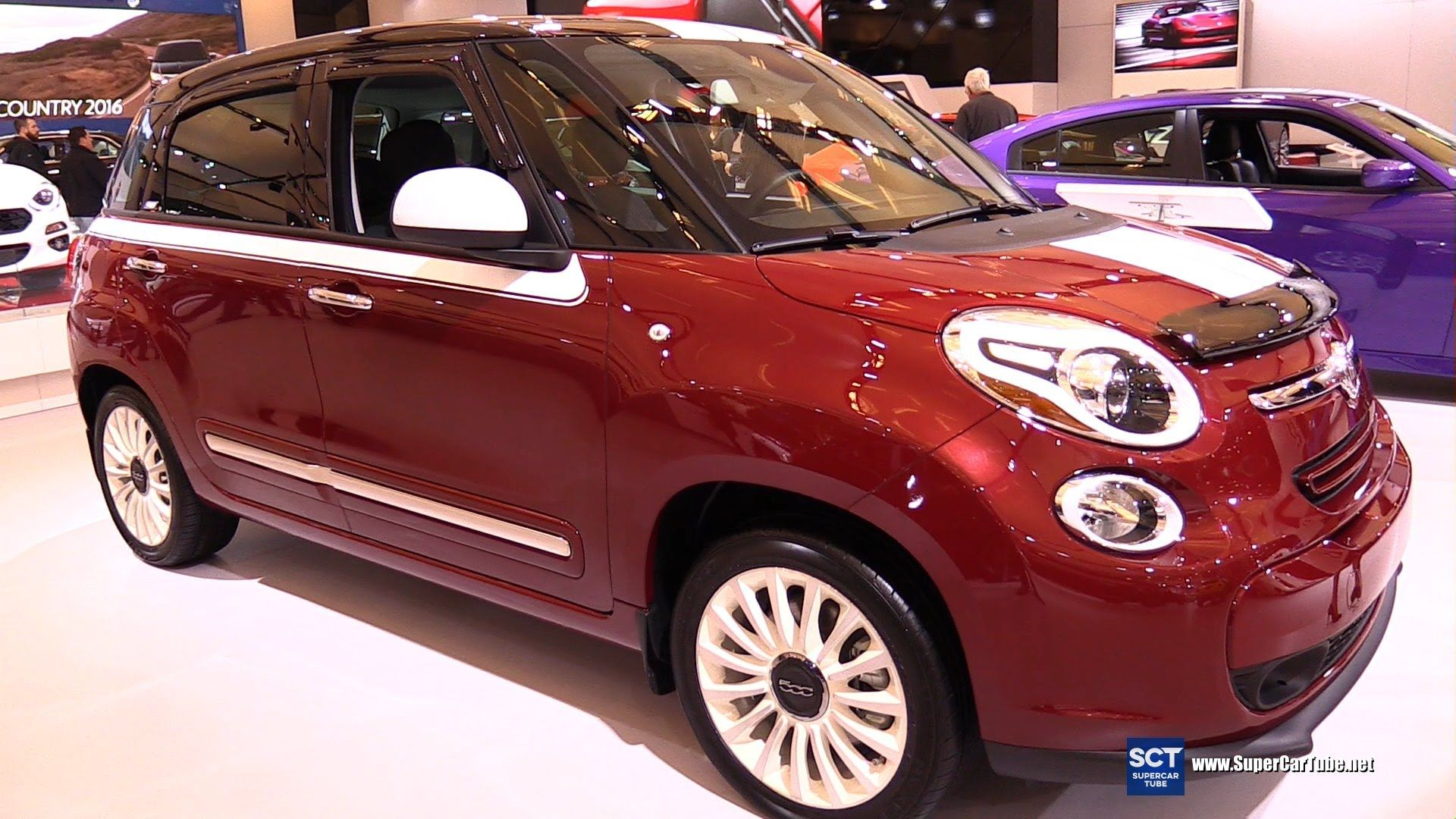 2016 Fiat 500l Lounge Exterior And Interior Walkaround 2016