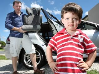 Parent anger at new Queensland car seat laws   AVT and Special Needs