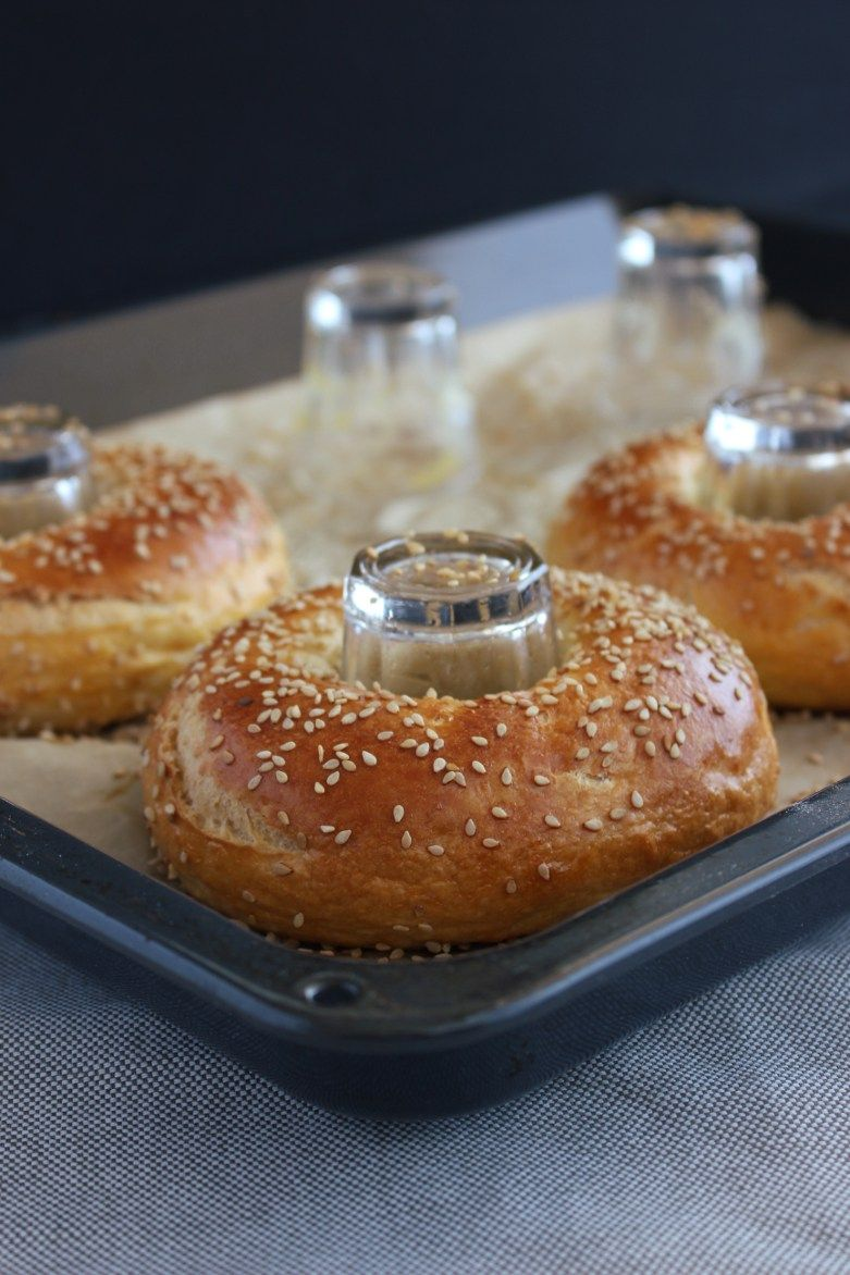 Photo of Bagels with sesame (& secret trick!) | Bäckerina