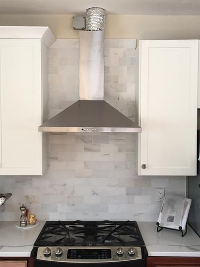 Ge 30 In Convertible Wall Mount Range Hood With Light In Stainless Steel Jvw5301sjss The Home Depot Range Hood Wall Mount Range Hood Cooker Hoods