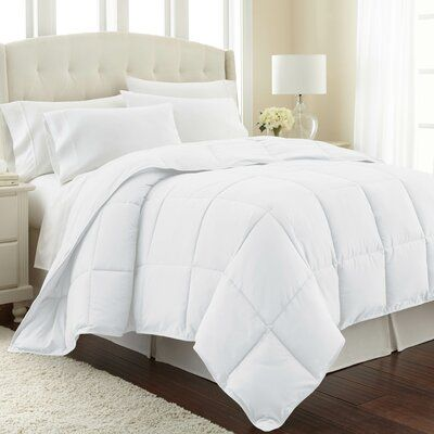 Photo of The Twillery Co. Acosta Single Comforter Size: Full / Queen, Colour: Bright White