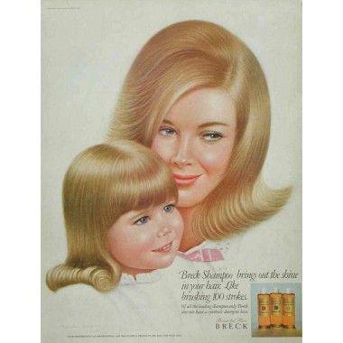 Breck shampoo, 1967
