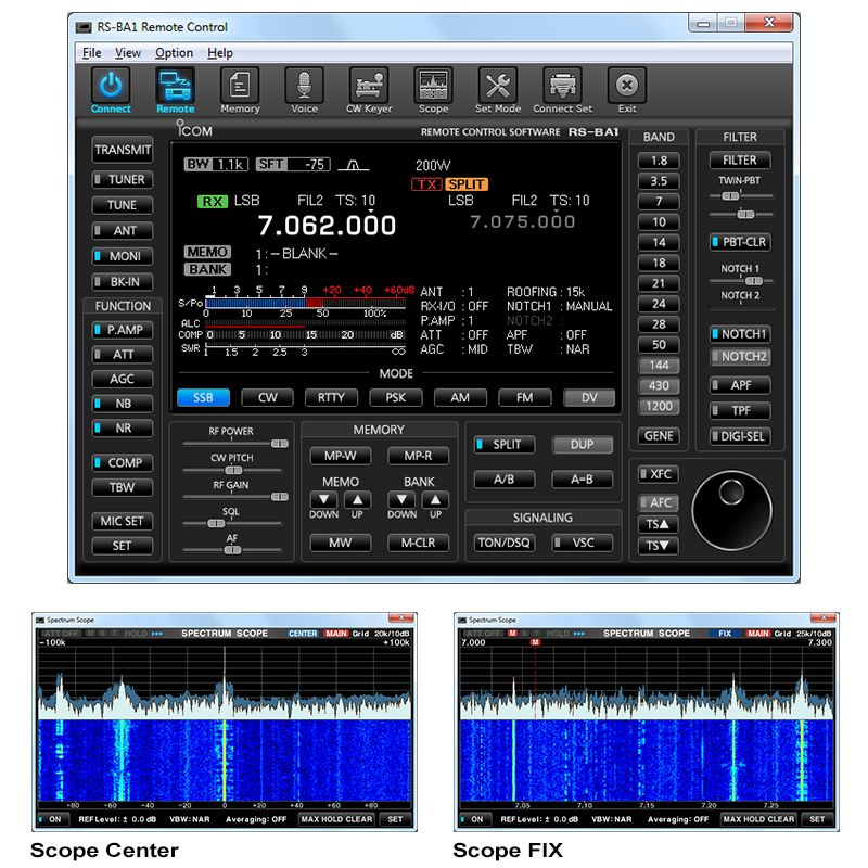 Icom RS-BA1- Installing & Setting up Remote Control for your