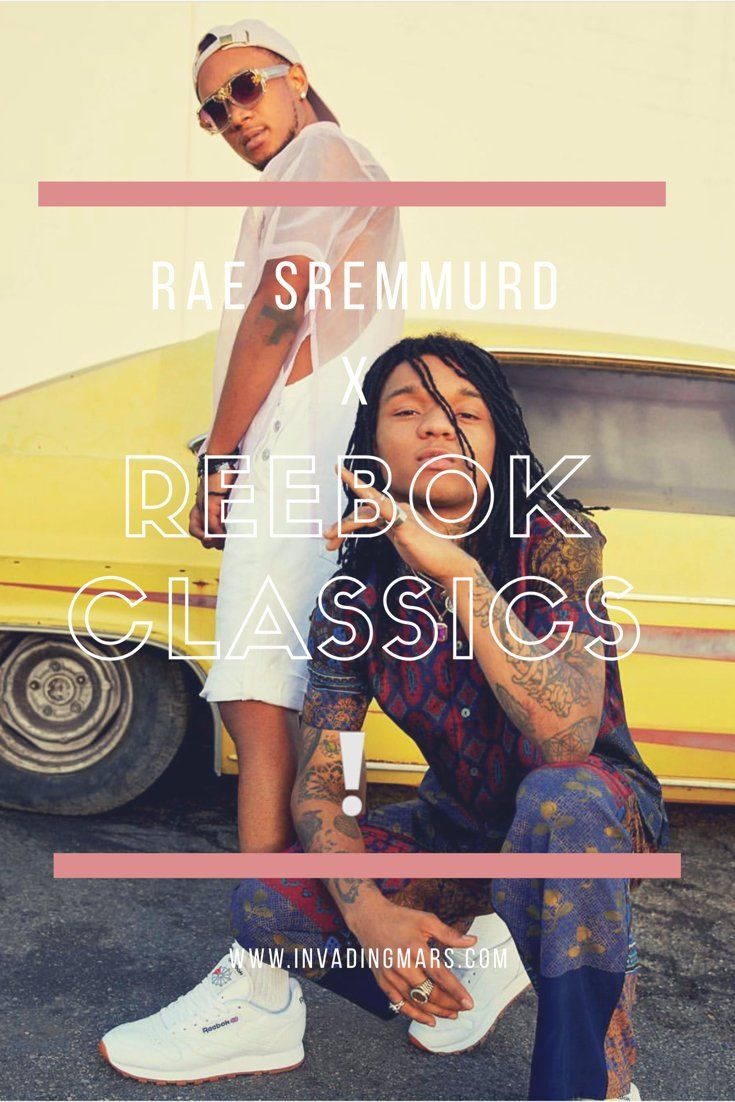 Rae sremmurd partners with reebok classic invading mars sneakers kicks men  shoes jpg 735x1102 Rae sremmurd ac38714db