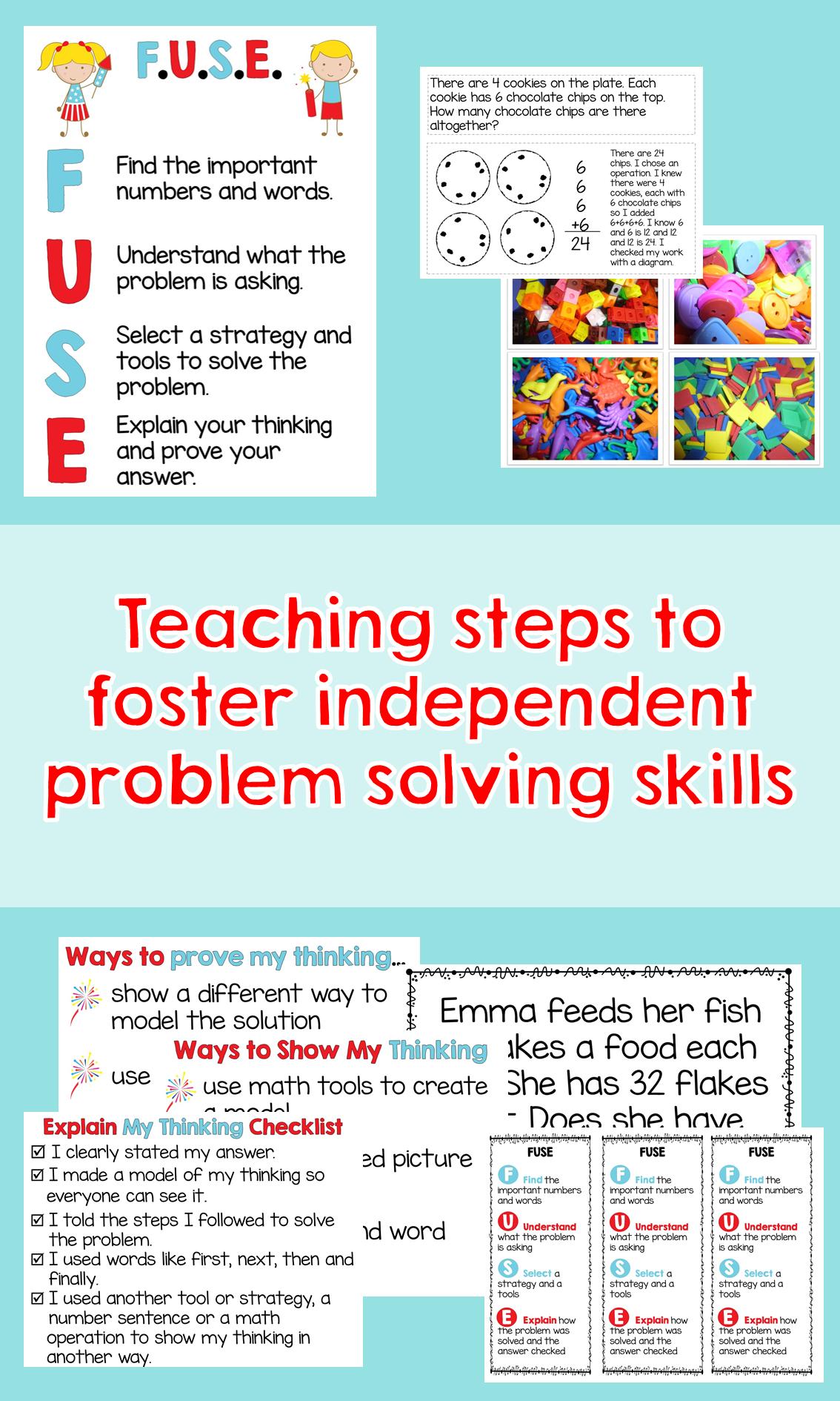 Problem Solving | Math | Pinterest | Student work, Students and Math