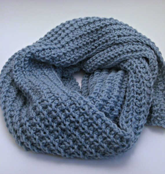 Glacier Loose Knit Scarf Pattern Ribbed Scarf Pattern Winter Scarf