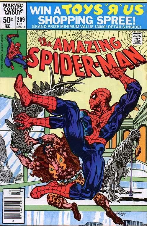 The Amazing Spider-Man (Vol. 1) 209 (1980/10)