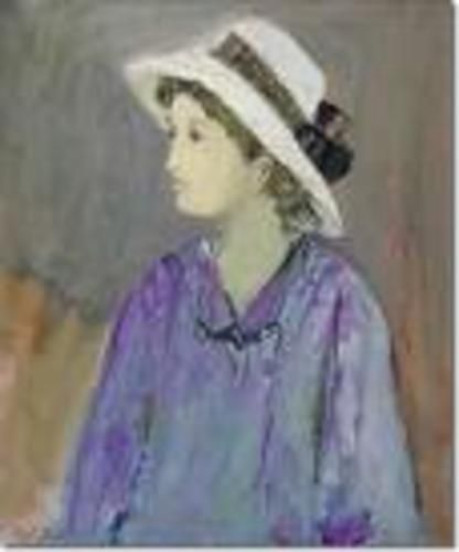 48f207ed53c70 La Dama del Sombrero - Raul Soldi Oleo sobre tela - 82 x 31 - Fotolog
