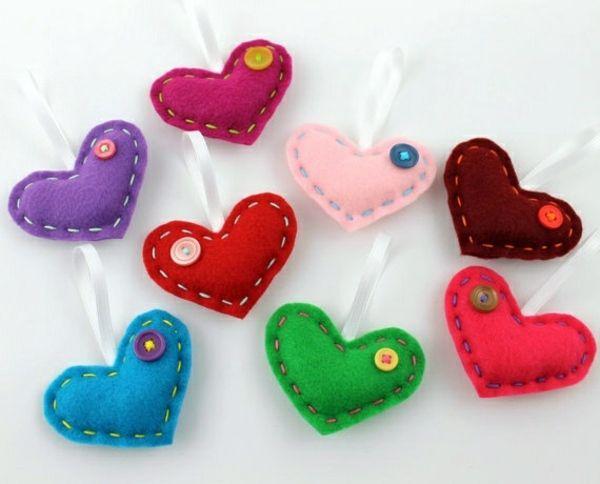 Fabric heart sew by you – cool DIY ideas | Interior Design Ideas ...