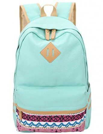 Leaper Canvas Backpacks School Backpack | Canvas backpack ...