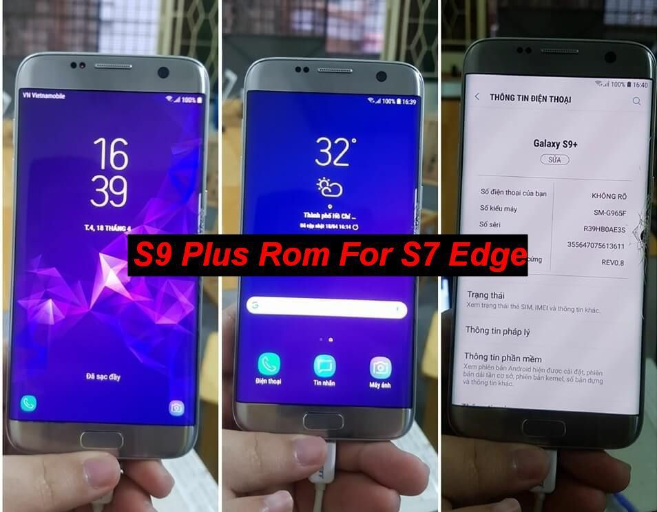 Here is a new ported Samsung Galaxy S9 Plus ROM for Samsusng Galaxy